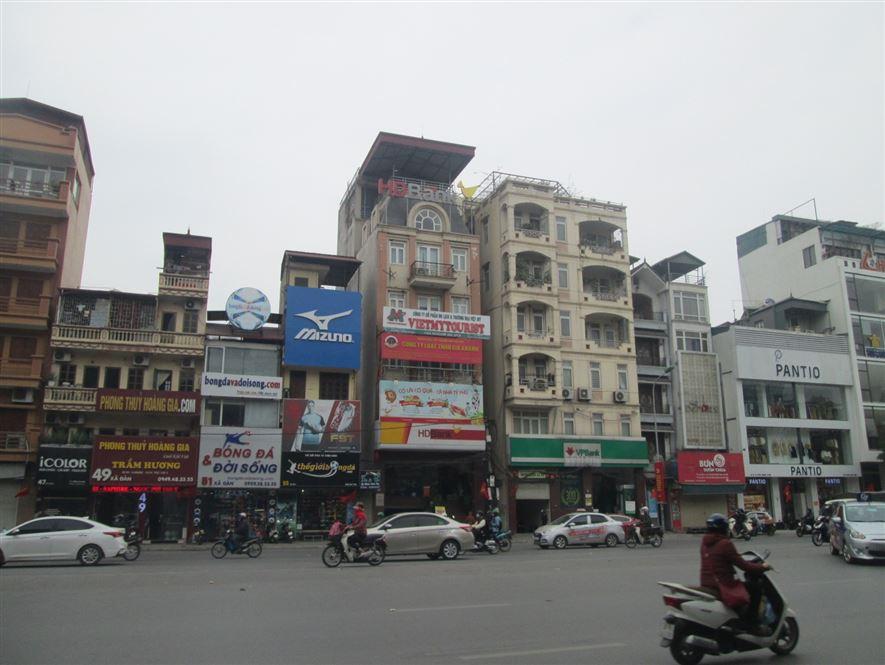 Nhà mặt phố Xã Đàn, Ô Chợ Dừa sầm uất, 2 thoáng 16m2x4T chỉ 4.89 tỷ.