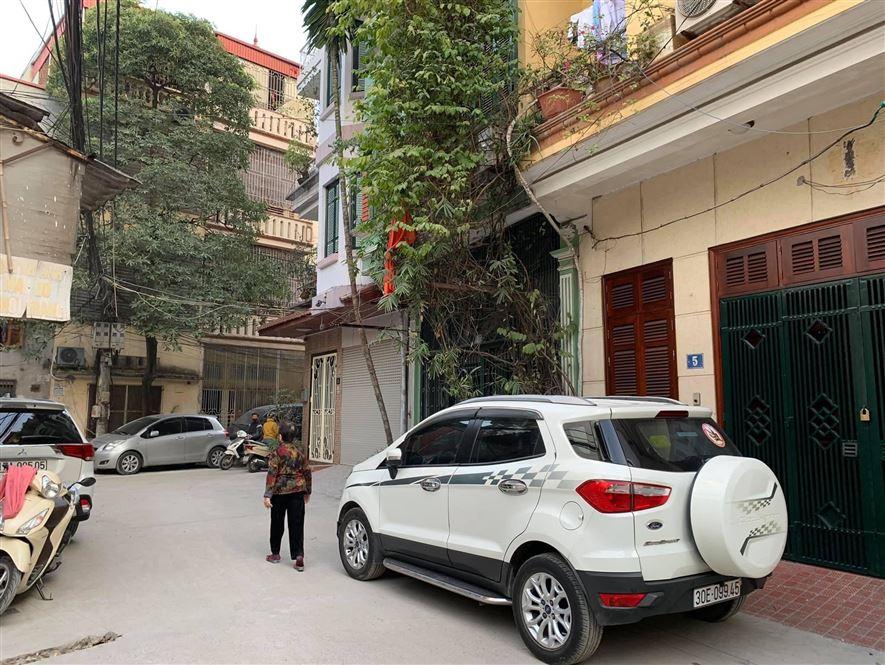 Bán Đất, Phố Trần Phú, Ô Tô Qua Nhà Xây CCMN 80m2, mặt tiền 4m, 5.2 tỷ.
