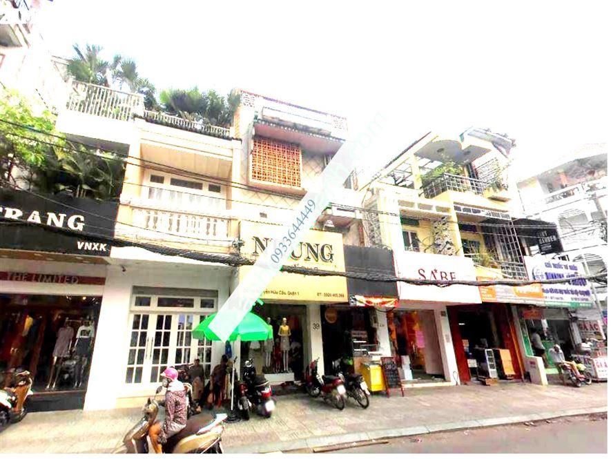 Bán Nhà bán nhà 37 - 39 - 41 Nguyễn Hữu Cầu, P Tân Định, Quận 1, 215m2,