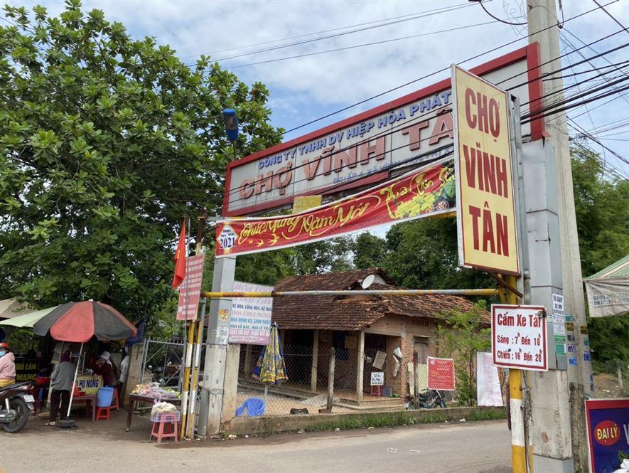 Bán đất Vĩnh Tân ngay chợ Vĩnh Tân liền kề KCN Vsip2